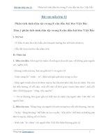 Văn mẫu lớp 12: Phân tích tính dân tộc trong 8 câu đầu bài thơ Việt Bắc của Tố Hữu