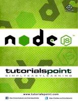 Lập trình nodejs thật đơn giản của vn talking