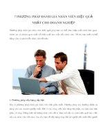 7 phương pháp đánh giá nhân viên hiệu quả nhất cho doanh nghiệp