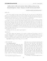 Kiến thức nền của sinh viên tiếng Anh A1 tại Đại học KHXH&NV: Thực trạng và đề xuất giải pháp