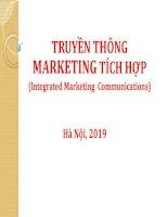 Bài giảng Truyền thông marketing tích hợp: Chương 1 - TS. Nguyễn Quang Dũng (Cao học)