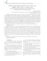 Những khác biệt cơ bản về cấu trúc câu trong tiếng Việt và tiếng Anh
