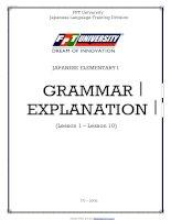 Giáo trình ngữ pháp minano nihongo 50 bài pdf