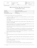 Mô tả công việc nhân viên thu mua (Purchasing Staff)