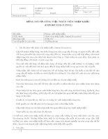Mô tả công việc nhân viên nhập khẩu (Import Executive)