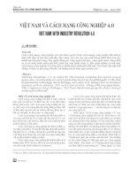 Việt Nam và cải cách công nghiệp 4.0