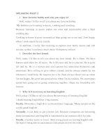 giải 12 đề luyện Speaking Part 2 thi B1