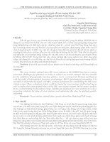 Nghiên cứu quy hoạch tối ưu mạng đài bờ MF trong hệ thống GMDSS Việt Nam