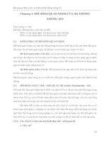Bài giảng Phân tích và thiết kế hệ thống thông tin: Phân 2 - ĐH Phạm Văn Đồng