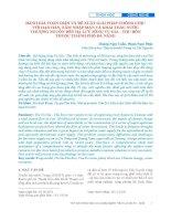 Đánh giá toàn diện và đề xuất giải pháp chống chịu với hạn hán, xâm nhập mặn và khai thác nước thượng nguồn đến hạ lưu sông Vu Gia - Thu Bồn thuộc thành phố Đà Nẵng