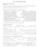 Tổng hợp 85 Bài tập toán rời rạc