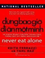 www sachmoi net dung bao gio di an mot minh   keith ferrazzi