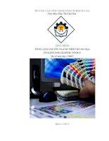 Giáo trình Tiếng anh chuyên ngành Thiết kế đồ họa - CĐ Nghề Công Nghiệp Hà Nội