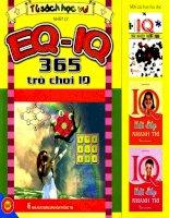 EQ - IQ 365 trò chơi IQ: Phần 1