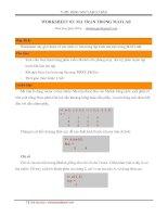 Thực hành Matlab cơ bản