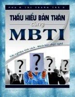Thấu hiểu bản thân cùng MBTI