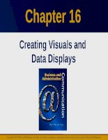 Lecture Business and administrative communication: Chapter 16 - Kitty O. Locker, Donna S. Kienzler