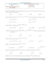 Bộ đề THPT QG môn toán 2020 phát triển từ đề minh hoạ tập 2