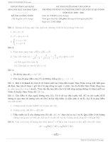 Tổng hợp 10 đề tuyển sinh lớp 10 môn toán năm 2020 – 2021 tập 4