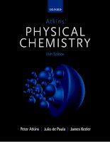 Preview atkins' physical chemistry 11th edition by peter atkins, julio de paula, james keeler