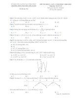 Tổng hợp 10 đề thi thử THPT QG môn toán 2021 các trường có đáp án tập 2
