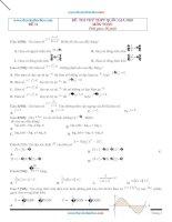 Tuyển chọn 10 đề thi thử THPT quốc gia môn toán 2020 có đáp án và lời giải tập 2