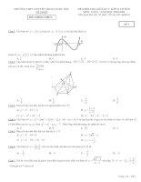 Tổng hợp 10 đề thi thử THPT QG môn toán 2021 các trường có đáp án tập 3
