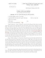Công văn giải trình về việc Kê khai sai trên hồ sơ thuế