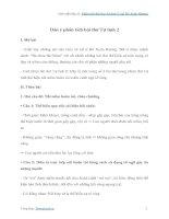 Phân tích bài thơ Tự tình 2 của Hồ Xuân Hương