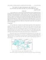 Tác động của biến đổi khí hậu đến thiên tai và giải pháp ứng phó cho khu vực thành phố Đà Nẵng