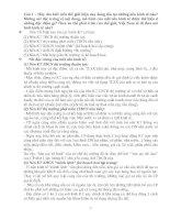 10 câu hỏi môn QLNN   THẦY TIỆM