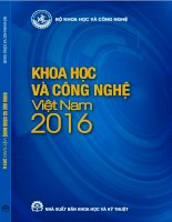 Công nghệ Việt Nam 2016: Phần 1
