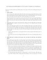 Dự thảo quan điểm pháp lý của luật sư trong vụ án hình sự