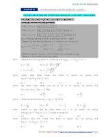 Chuyên đề 19  phương pháp giải phương trình mũ   logarit   câu hỏi