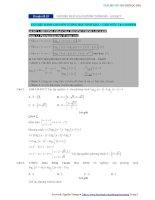 Chuyên đề 19  phương pháp giải phương trình mũ   logarit   đáp án