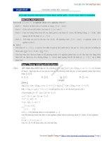 Chuyên đề 19  phương trình mũ   logarit chứa tham số  đáp án