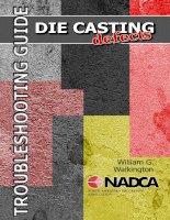 NADCA hướng dẫn phân loại và xử lý lỗi trong đúc die casting