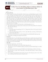 Bài giảng Quản trị Marketing – Bài 4: Phân tích thị trường, hành vi khách hàng và lựa chọn thị trường mục tiêu