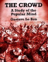 Gustave le bon   the crowd  a study of the popular mind dover publications (2001)