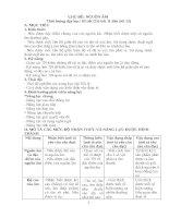 GIÁO án CHỦ đề 2  KHỐI 7   NGUỒN âm (1)