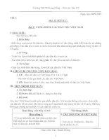 giáo án Địa lí 9 (tuần 1-14)