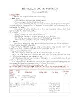 Giáo án chủ đề vật lí 7  nguồn âm