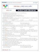 THẦY VNA tuyển tập 100 câu lý thuyết ĐXC   có đáp án