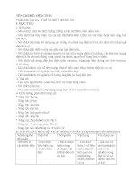 Chủ đề 3 khối 7 điện tích