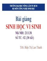 BAI GIANG SINH HOC DAI CUONG