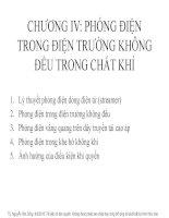 Chuong IV (Phong dien trong dien truong khong deu)