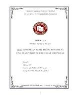 Tiểu luận môn nghiệp vụ hải quan tổng quan về hệ thống HS code và ứng dụng vào biểu thuế xuất nhập khẩu