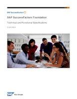sap successfactors foundation english v4 2020
