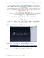 HƯỚNG dẫn vẽ XYCLONE 3d BẰNG PHẦN mềm SOLIDWORKS và XUẤT bản vẽ kỹ THUẬT