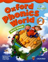 Oxford phonics world 2 student book